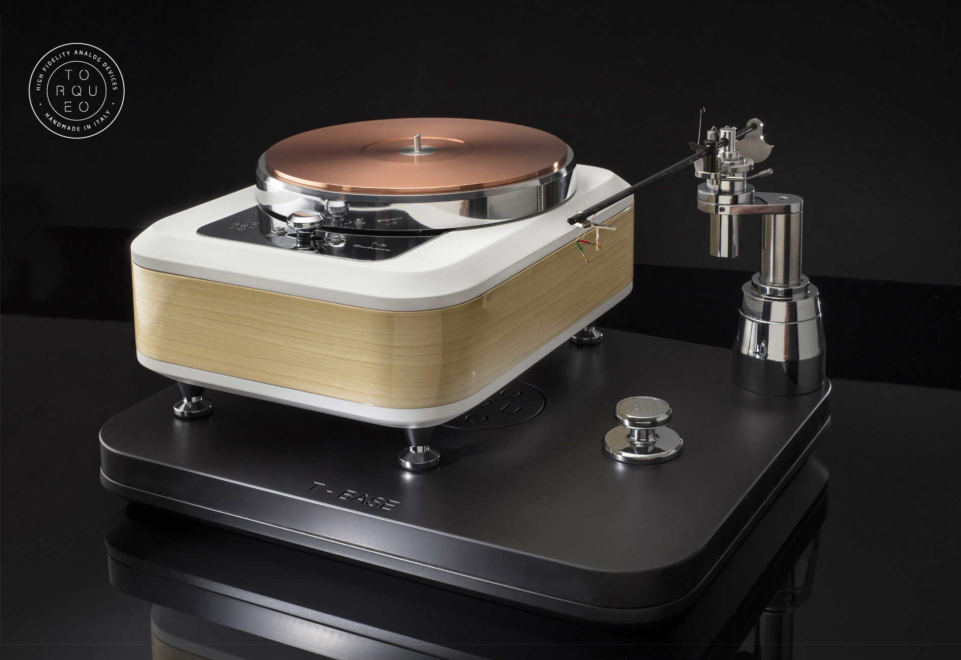 "TORQUEO - T-34 EXCLUSIVE ACERO COMPACT with PILASTRO MK2 on ""T-BASE"" platform."