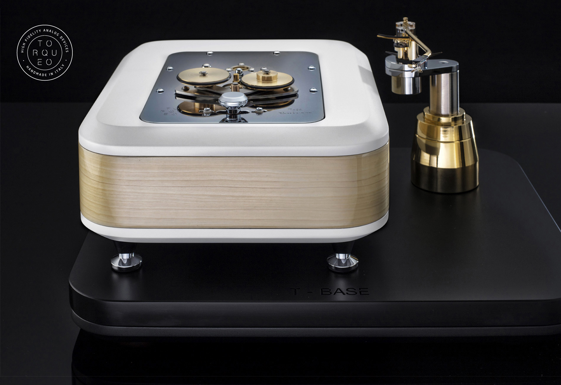 """TORQUEO - T-34 EXCLUSIVE ACERO COMPACT with PILASTRO MK2 on """"T-BASE"""" platform."""
