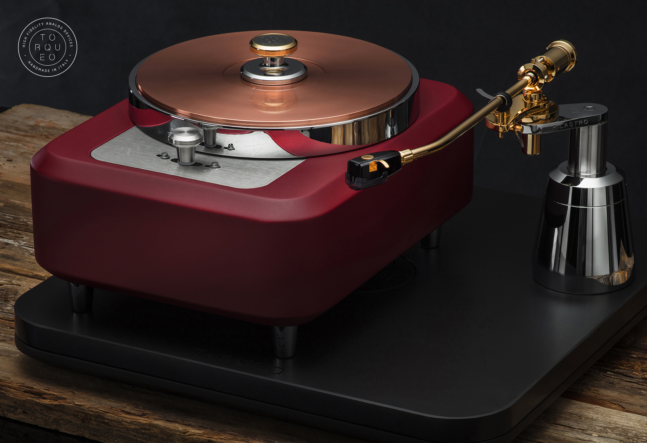 Torqueo Audio T-34 EXCLUSIVE MARSALA COMPACT 02