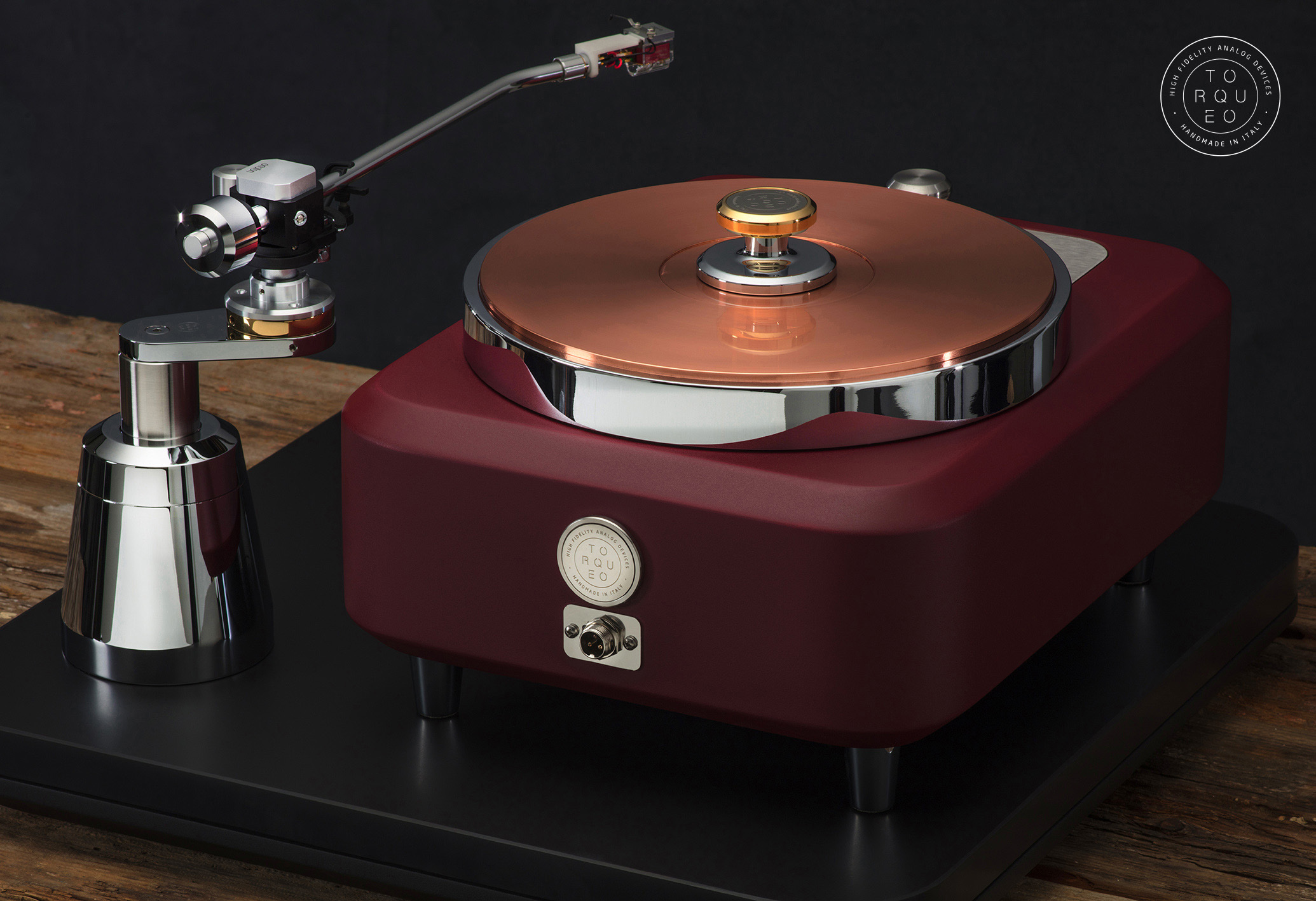 Torqueo Audio T-34 EXCLUSIVE MARSALA COMPACT 03